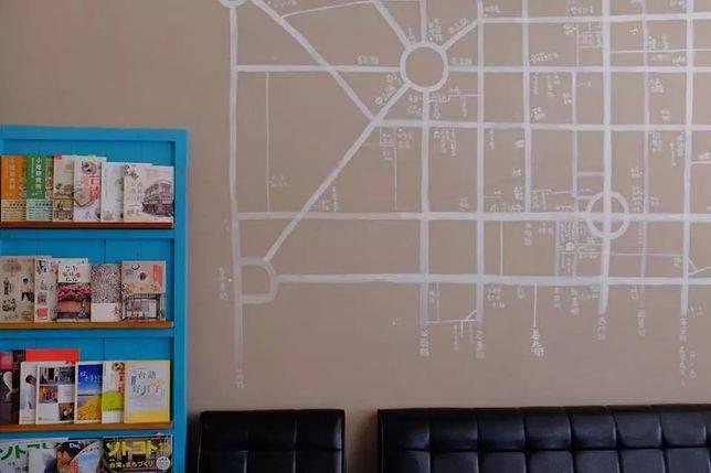 手繪美食地圖