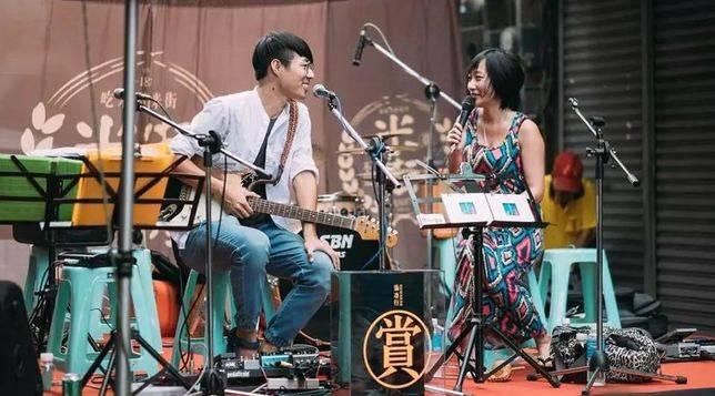 邀請台灣音樂人前來表演