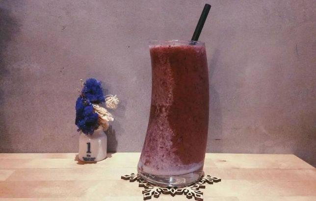 店內每款混合果汁都不加糖,保留水果純粹的風味