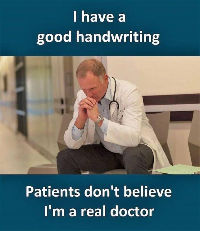 病人不相信我是真正的醫生